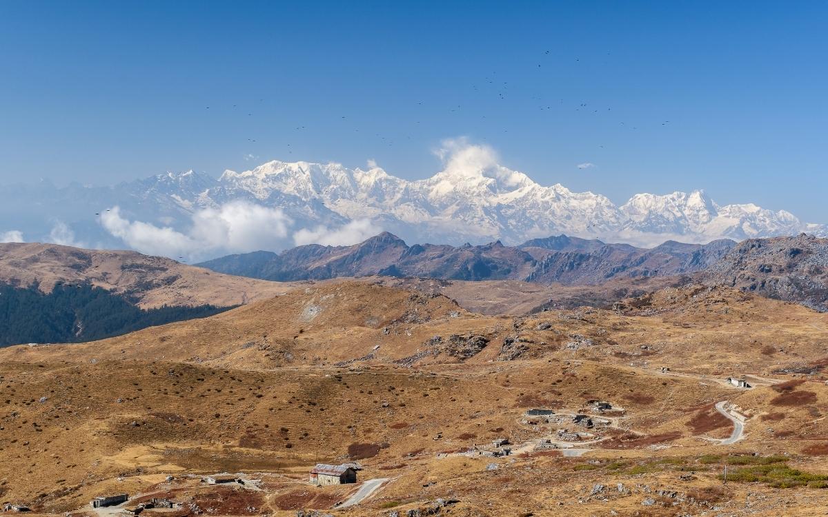 The majestic Mount Kanchenjunga